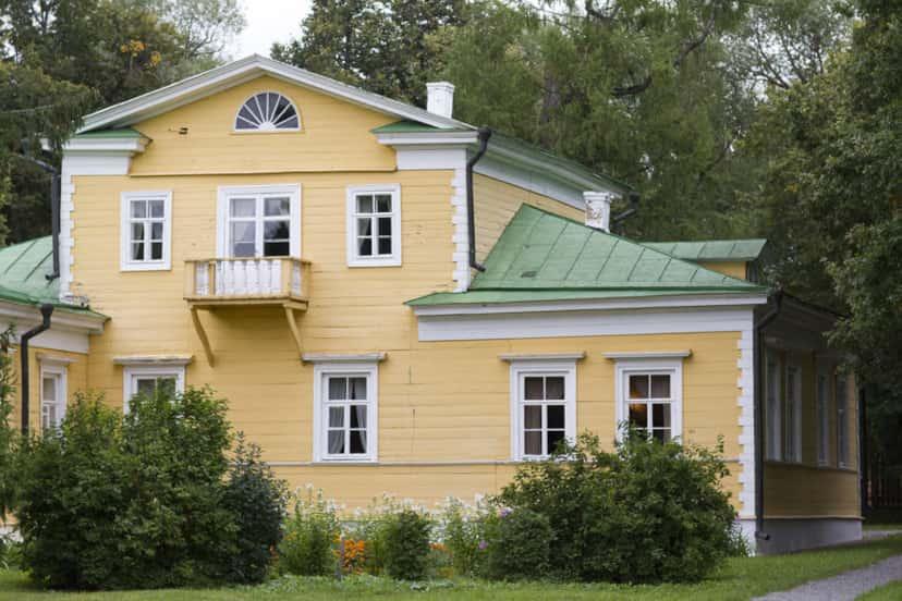 Дом Пушкина в селе Большое Болдино