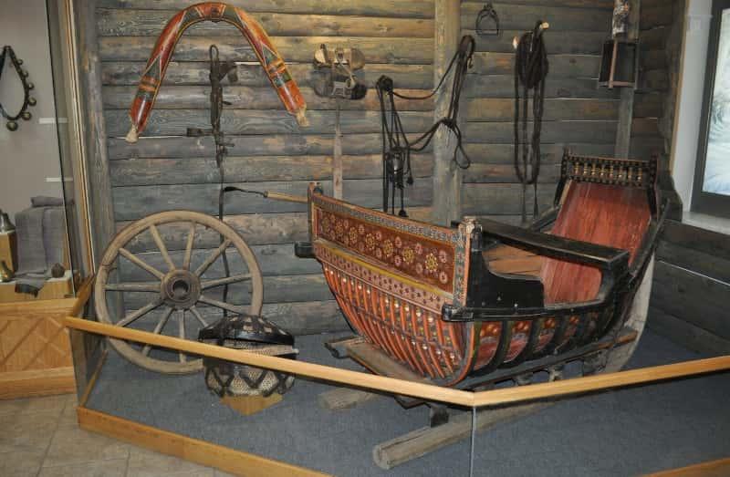 Экспонаты Камышинского краеведческого музея