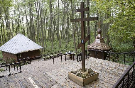 Святой источник в Шамордино